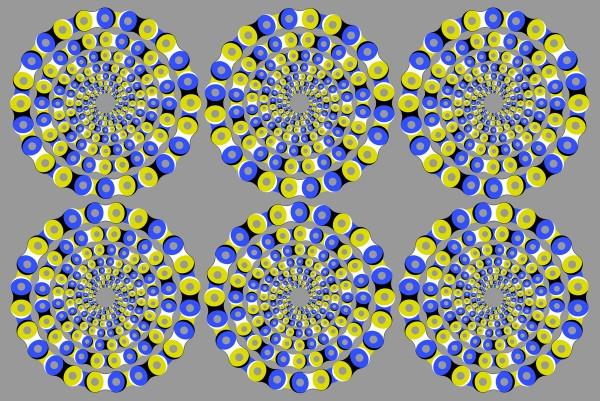 Rotating Chains by Akiyoshi Kitaoka