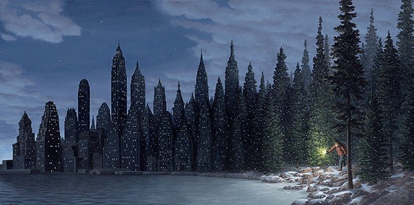 Light Flurries by Rob Gonsalves