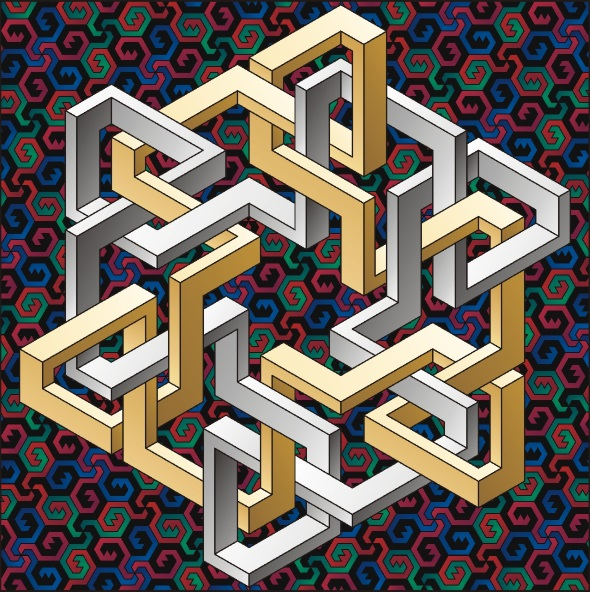 Paradox 01 by Tamás Farkas | An Optical Illusion