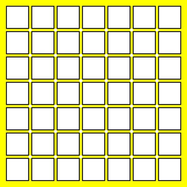 Illusory Blue Dots by Akiyoshi Kitaoka