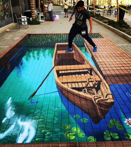anamorphic-row-boat-by-tracy-lee-stum