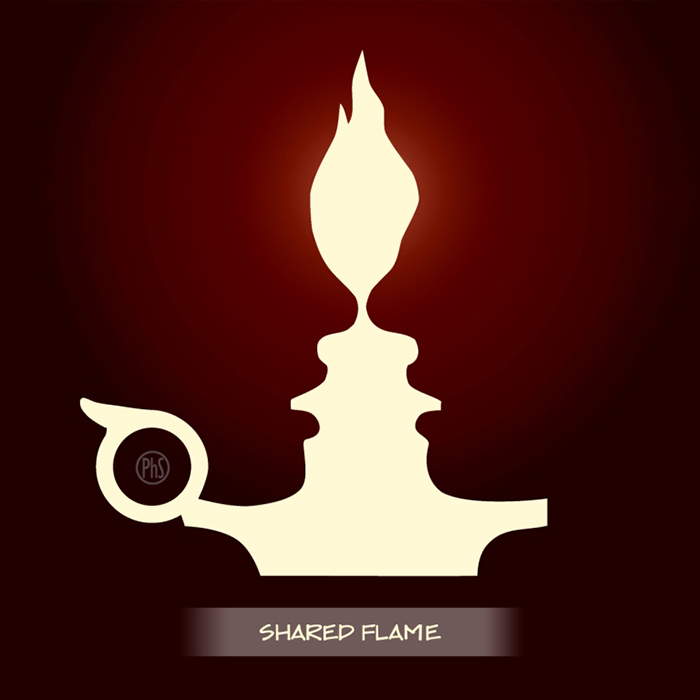 Shared Flame By Philippe Socrate An Optical Illusion