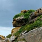 Apache Head in the Rocks
