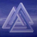 Impossible Interlocking Triangles by Monika Buch