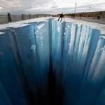 The Crevasse by Edgar Mueller