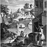 Satire on False Pespective by William Hogarth