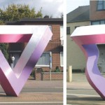 Impossible Triangle Sculpture