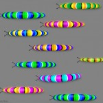 Caterpillar Race Illusion by Kaia Nao