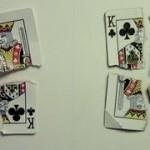 Playing Card Trompe L'oeil Drawing