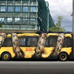 Anaconda Bus Optical Illusion