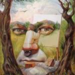 Hidden Face Illusion by Oleg Shupliak
