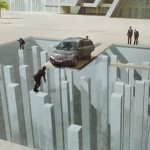 Honda CRV Optical Illusion Commercial