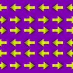 Moving Arrows Optical Illusion