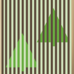 Christmas Tree Optical Illusion