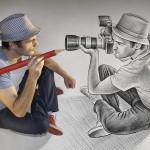 Pencil Vs Camera - 73 from Ben Heine