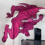 Minotaur Anamorph by Truly Design