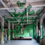 Octopus Anamorph by Truly Design