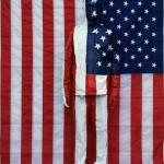 Liu Bolin - American National Flag