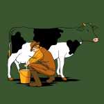 Milking Out by Flying Mouse
