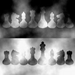 Chess Pieces Lightness Illusion