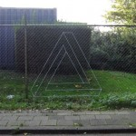 Impossible Triangle on Fence