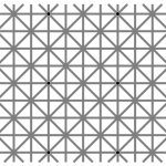 12 Black Dots Optical Illusion