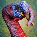 Turkey Hand Painting by Guido Daniele