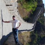 Great Wall of China Optical Illusion