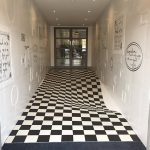 Hallway Optical Illusion